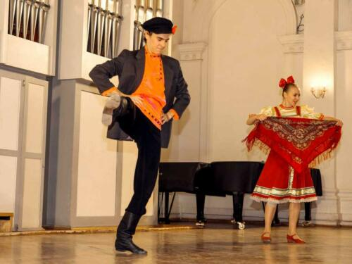 Дуэт танцы