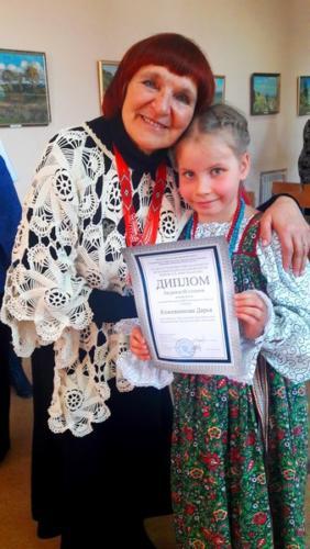 Кожевникова Дарья конкурс Христиансена